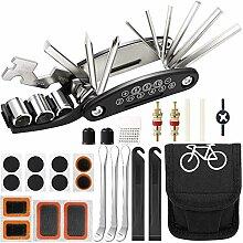 Kohyum Fahrrad-Multitool, 16 in 1 Werkzeuge für
