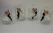 Koi Hochzeitspaar Brautpaar auf Hollywood-Schaukel