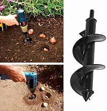 koiry Garten-Schnecken-Spiralbohrer-Zubehör zum