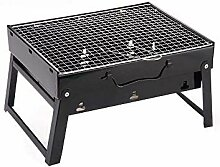 KOIUJ Tragbarer Barbecue Grill Holzkohle-Grill