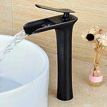 kokeruup Waschbecken Wasserhahn/schwarz Bronze/Bad