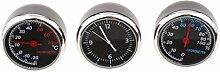 kokiya 3 Teile/Satz Auto Thermometer Hygrometer