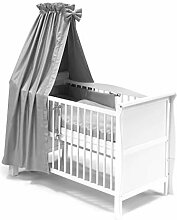 KOKO Babybett Gitterbett Kinderbett Lilly