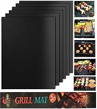 KOLARK BBQ Grillmatten Set von 5, FDA-Approved