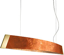 Kolarz BARCA LED-Pendelleuchte 130 cm, 24-Karat
