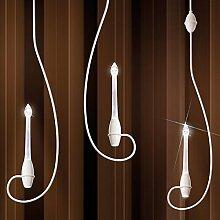 Kolarz Moderne LED Pendelleuchte Tiefe 3,2m max