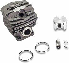 Kolben + Zylinder Kettensäge Motorsäge Säge 48mm