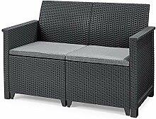 Koll Living Garden Lounge Sofa, 2-Sitzer -