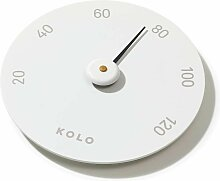 KOLO Sauna Thermometer Weiß