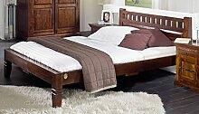 Kolonialmöbel Bett 120x200 Akazie Möbel massiv OXFORD #227
