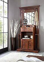 Kolonialstil Garderobe Akazie Holz massiv OXFORD #442