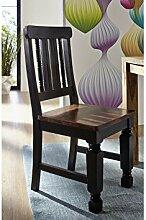 Kolonialstil Sheesham massiv Holz Möbel Stuhl Palisander vollmassiv lackiert Massivmöbel NEW BOSTON #120