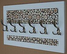 KOMA Garderobenleiste 70 x 40cm Landhausstill