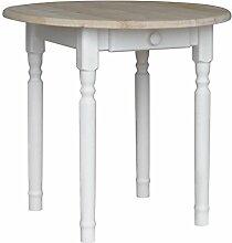 koma Runder Kiefer Tisch Esstisch Holz