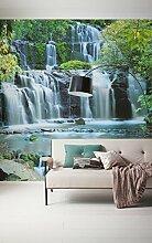 Komar 256-DV3 Vlies Fototapete PURA KAUNUI Falls