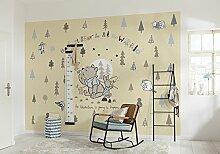 Komar 8-4024 Fototapete aus Papier Winnie Pooh