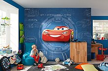 "Komar 8-488 Fototapete ""Cars3 Blueprint"","