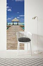 Komar 921-DV1 Vlies Fototapete Beach RESORT-100 x
