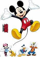 Komar - Disney - Deco-Sticker MICKEY AND FRIENDS -