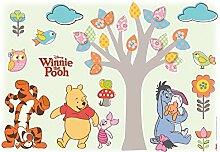 Komar - Disney - Deco-Sticker WINNIE POOH NATURE