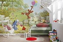 Komar - Disney - Fototapete Winnie Pooh Ballooning