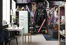 "Komar Fototapete ""Star Wars Darth Vader Collage"", 368 x 254 cm, 8 Teile"