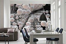 Komar - Fototapete 3D SPHERICAL - 368 x 254 cm -