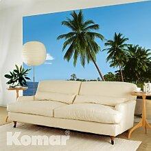 Komar - Fototapete - Afrikanischer Strand - 8-074