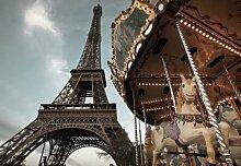 Komar Fototapete Carrousel de Paris Gallery