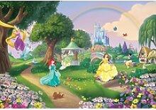 Komar Fototapete Disney Princess Rainbow 368 cm x
