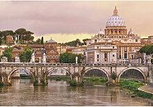 Komar FOTOTAPETE Rome , Mehrfarbig , Papier ,