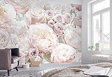 Komar Fototapete Spring Roses - 368 x 254 cm -