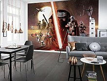 Komar - Fototapete STAR WARS EP7 COLLAGE - 368 x
