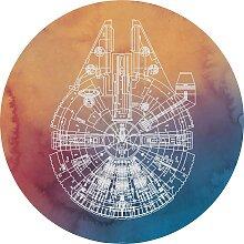 Komar Fototapete Star Wars Millennium Falcon,