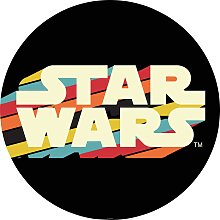 Komar Fototapete Star Wars Typeface,