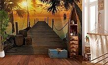 Komar - Fototapete TREASURE ISLAND - 368 x 254 cm