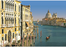 Komar FOTOTAPETE Venezia , Blau, Mehrfarbig ,
