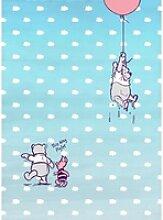 Komar Fototapete Winnie Pooh Piglet 184 cm x 254 cm