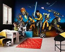 Komar - Star Wars - Fototapete REBELS RUN - 368 x