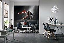 Komar Star Wars Kylo REN Tapete Wandbild, Vinyl, Mehrfarbig, 8-teilig