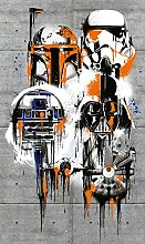 Komar - Star Wars - Vlies Fototapete THE GALAXY -