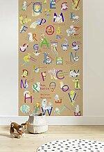 Komar Vlies Fototapete - Animals A-Z Panel -