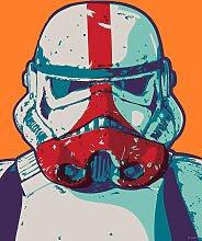 Komar Wandbild Mandalorian Pop Art Stormtrooper,