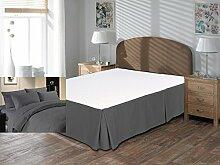 Komfort Bettwäsche 650tc 3-teiliges Bett Rock 100% ägyptische Baumwolle massiv, Dark Gray, Euro Double IKEA