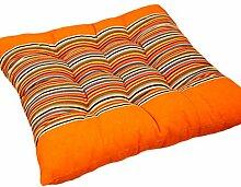 Komfort weichen Platz Stuhl Kissenpolster Sitzkissen Kissen Bodenkissen, Orange