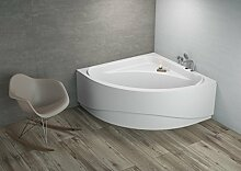 Komfortable Eck Badewanne-Acryl 140x140x580 inkl.