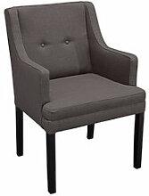 Komfortabler Sessel mit Armlehne im modernen