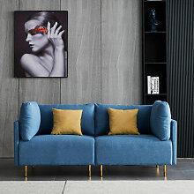 Komfortables modernes Stoffsofa, 188 cm,