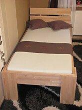 Komfortbett 90x200 buche Seniorenbett Kinderbett -