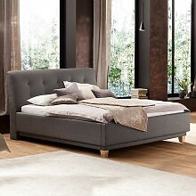 Komfortbett in Taupe  180x200 cm
